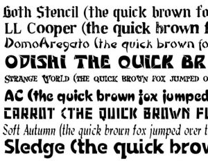 19 best fonts for blogs and websites