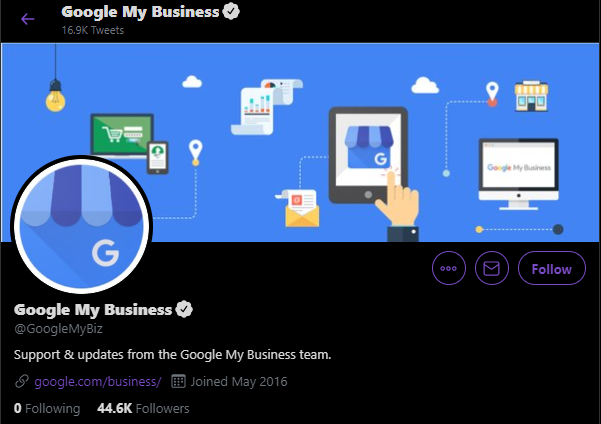 contact Google My Business Support