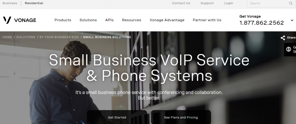vonage, best business phone services