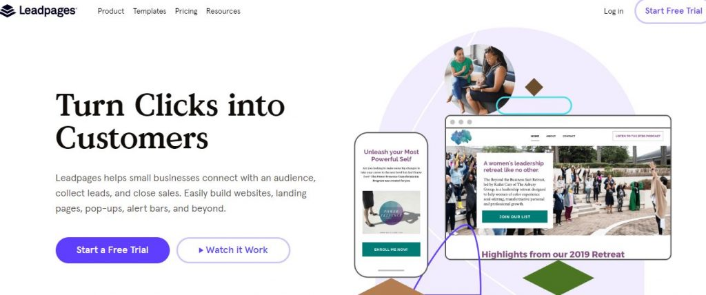leadpages clickfunnels alternatives 2020