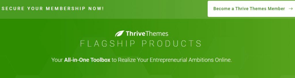 thrive themes homepage