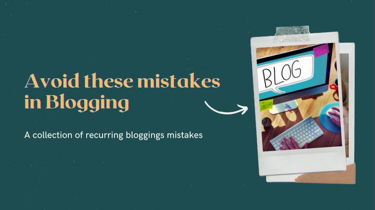 mistakes bloggers make